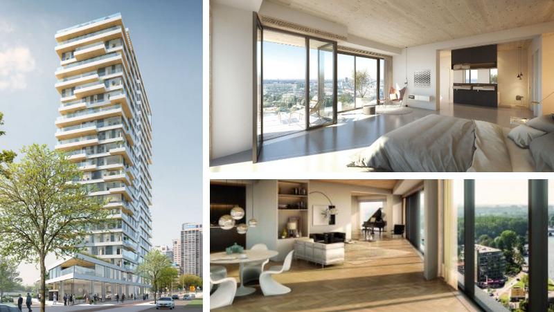 Partirà a giorni la vendita degli appartamenti di Haut: grattacielo in legno che raggiungerà 73 metri per 20 piani e ospiterà 55 appartamenti