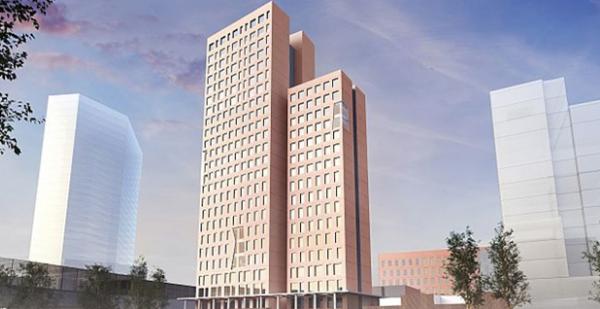 Attualmente in fase di costruzione HoHo, a Vienna, si prepara a diventare l'edificio in legno più alto del mondo