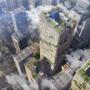 Gli edifici del futuro saranno realizzati in legno